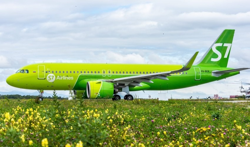 Новый рейс  S7 Airlines на направлении Иркутск-Анадырь-Иркутск